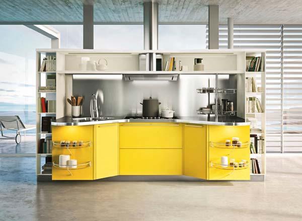 کابینت ام هایگلاس مدرن آشپزخانه کوچک
