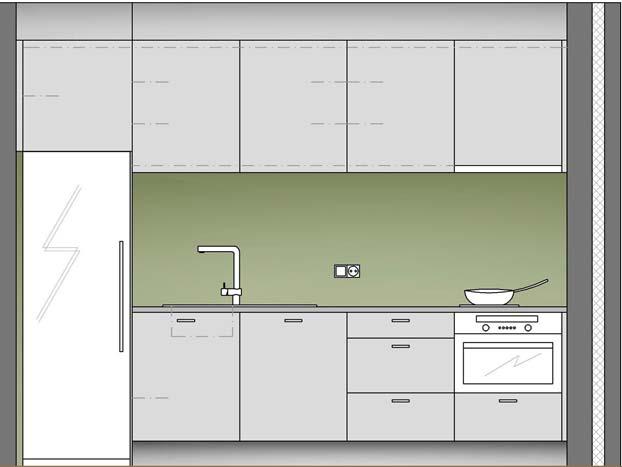 طراحی کابینت آَشپزخانه