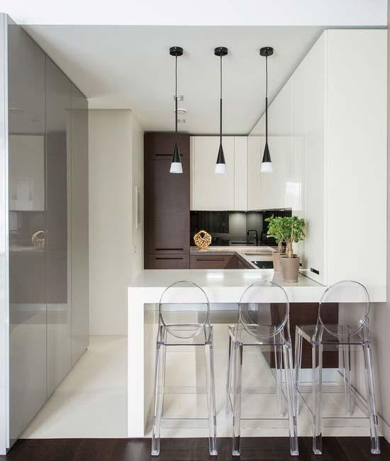 کابینت آشپزخانه ی کوچک