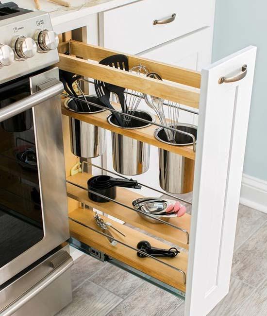 کابینت آشپزخانه کوچک- مدل داخل کابینت-